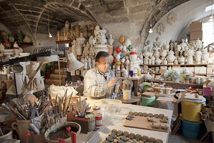 Гротталье «Город керамики»