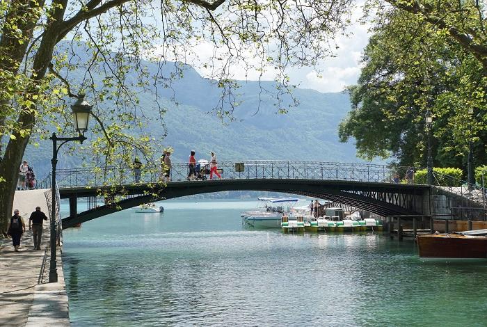 Мост Влюблённых Пон-де-Амур