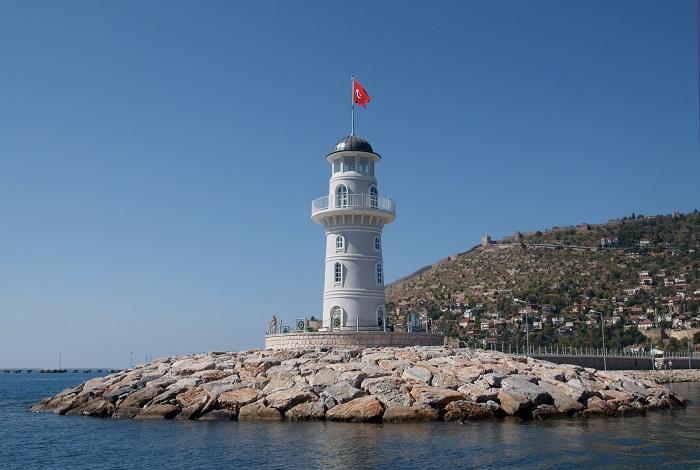 Порт, набережная и маяк