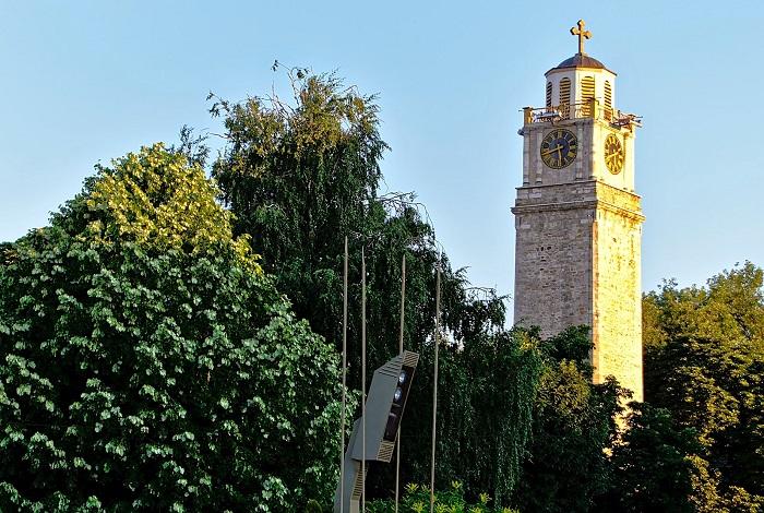 албания часовая башня Саат-Куда начала 19 века