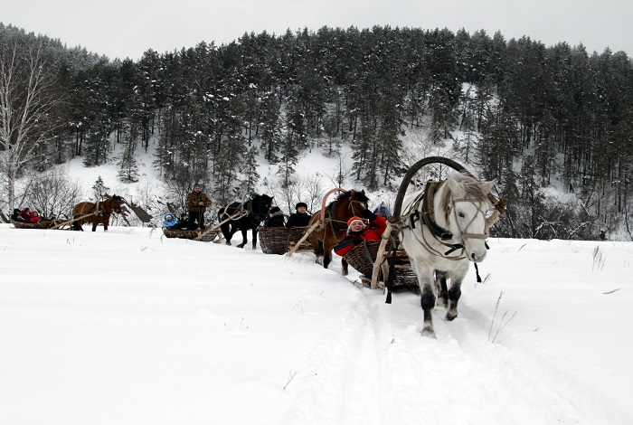 Конно-санный тур по Уралу