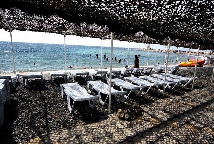 Пляж автокемпинга «Утришская волна»
