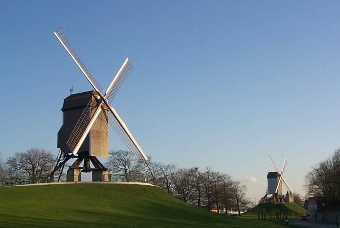 Ветряные мельницы Колевей и святого Яна