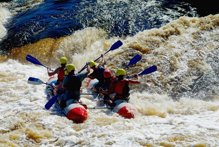 Сплав по реке Укса