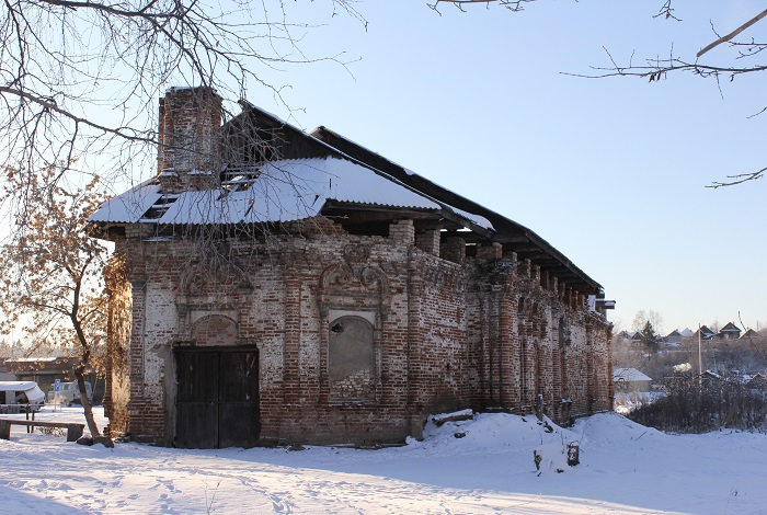Руины Иоанно-Предтеченской церкви