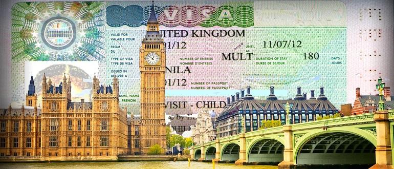 Образец заполнения анкеты на визу Великобритании