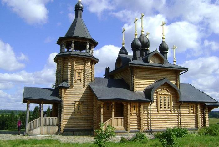 Храм всех Святых Урала и Сибири