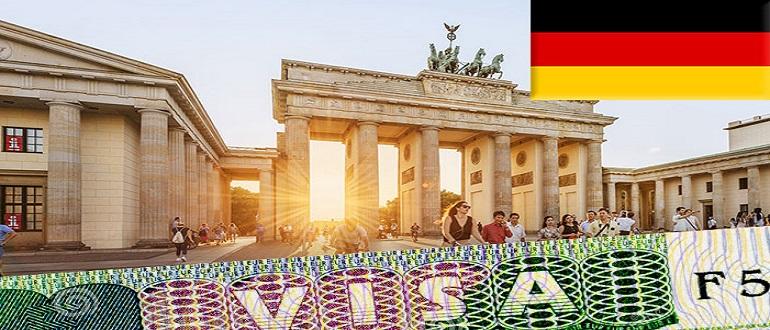 Образец анкеты на шенгенскую визу в германию