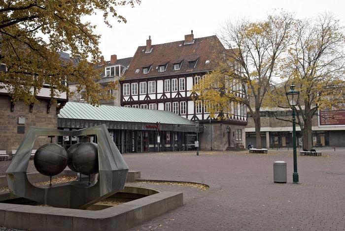 Старейший в городе спортзал Ballhof