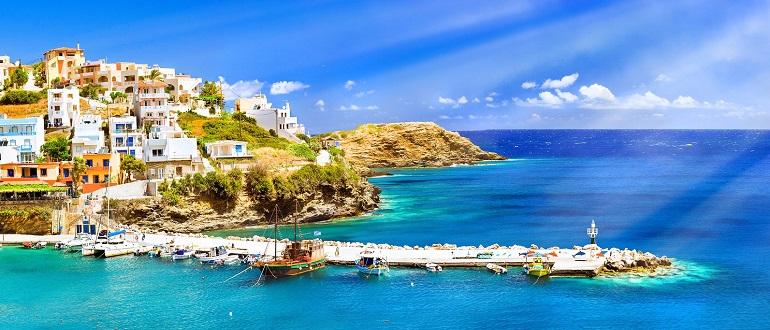 Отдых на Крите Погода на Крите пляжи на острове Крит Греция
