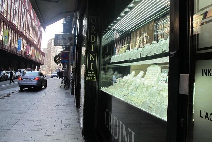 Алмазный квартал Антверпена