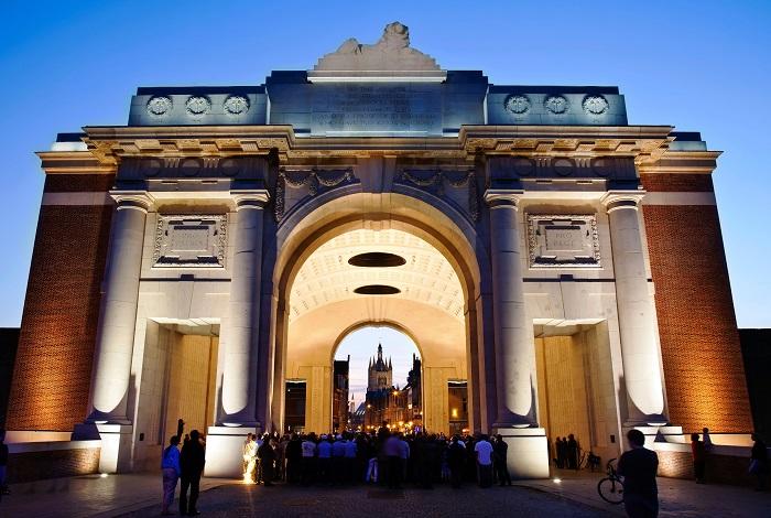 Бельгия Мененские ворота